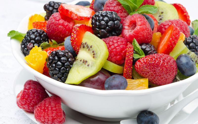 salat food fruit sweet wallpaper