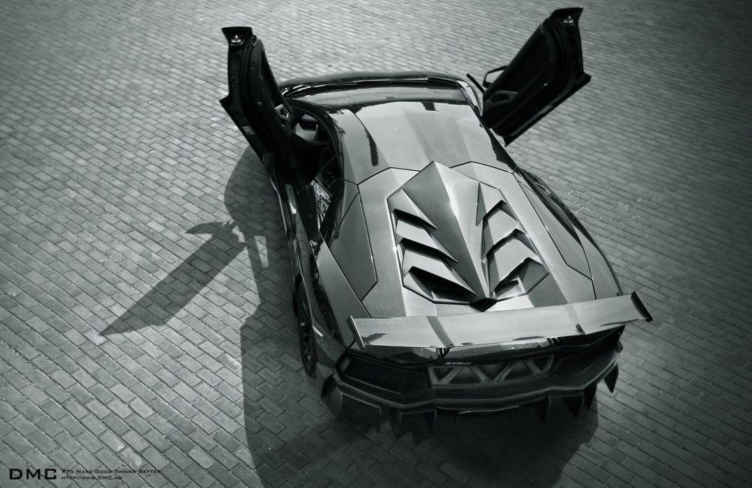Lamborghini Aventador Edizione-GT Package tuning wallpaper