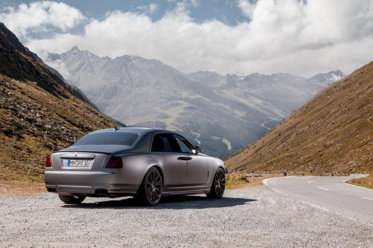 Rolls Royce Ghost tuning wallpaper