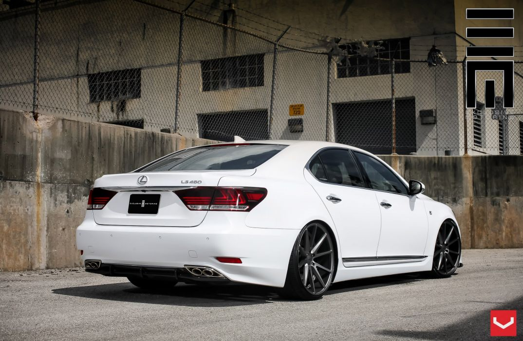 vossen wheels Lexus-LS tuning wallpaper