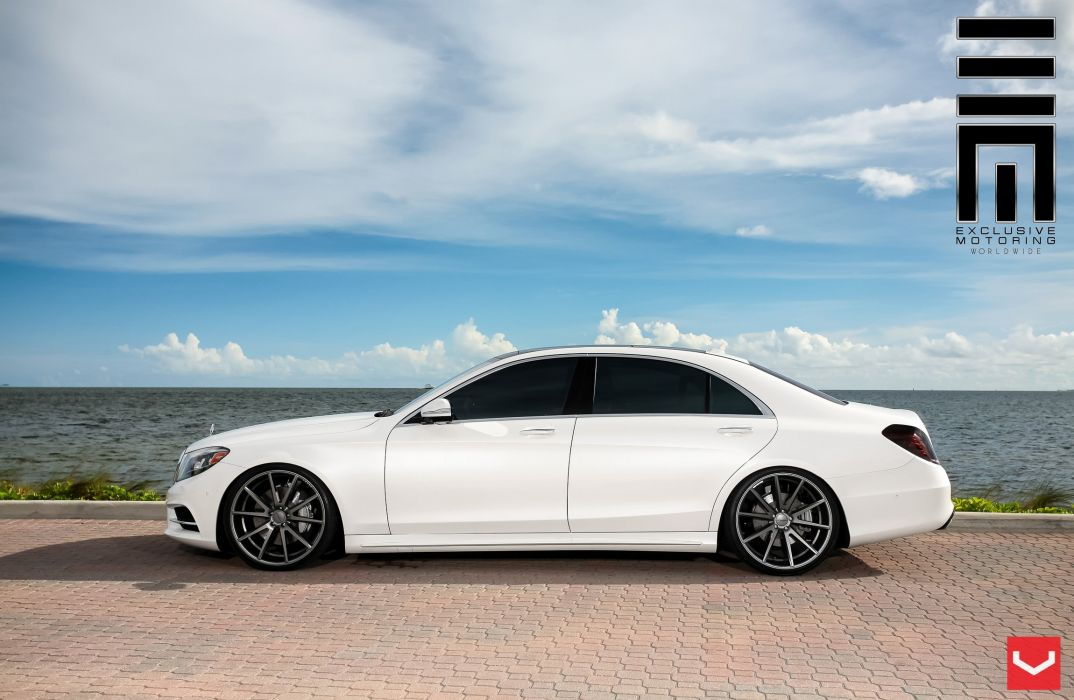 vossen wheels Mercedes S-Class tuning wallpaper