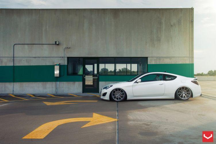 vossen wheels Hyundai Genesis coupe tuning wallpaper