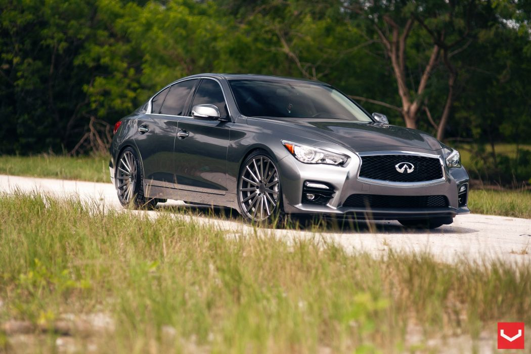 vossen wheels Infiniti-Q50 tuning wallpaper