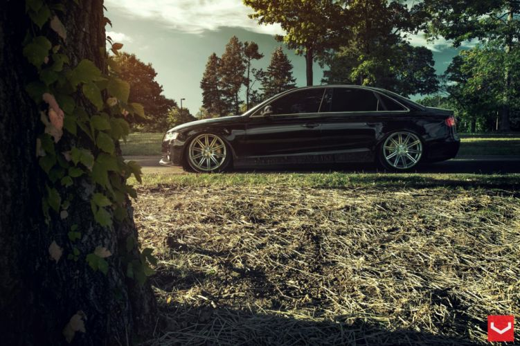 vossen wheels Audi-A4 tuning wallpaper