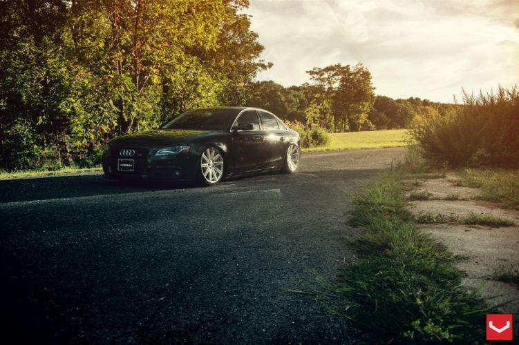 vossen wheels Audi-A4 tuning wallpaper