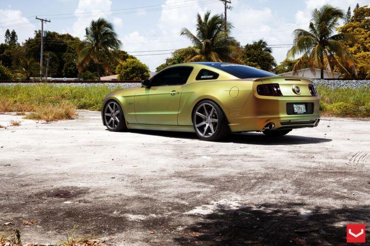 vossen wheels Ford Mustang tuning wallpaper
