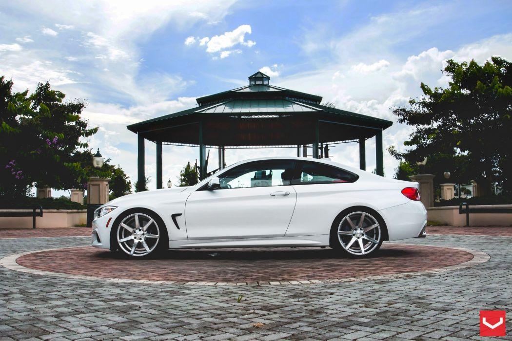 vossen wheels BMW 4-Series tuning wallpaper