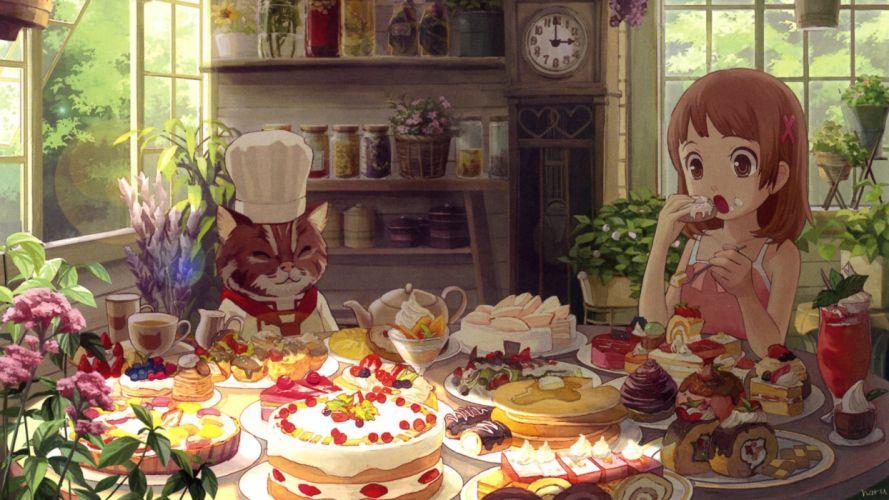 anime girl beautiful cute happy beauty girls happy lovely wallpaper