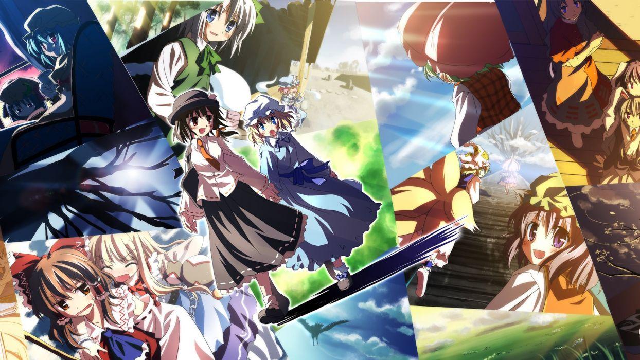 anime girl beautiful cute beauty happy lovely love girls wallpaper