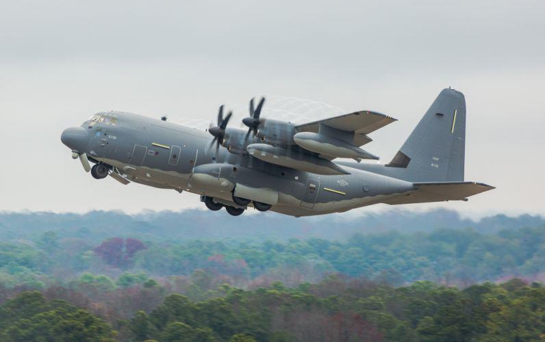 1999 Lockheed C-130J Super Hercules aircrafts transport Military us-air-force wallpaper