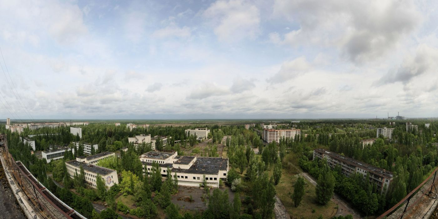 Pripyat the Ghost town Ukraine Chernobyl wallpaper