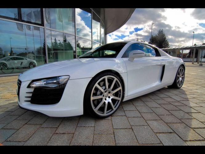 Audi R8 White wallpaper