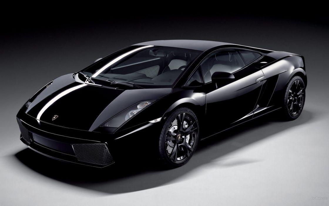Lamborghini Gallardo Black Wallpaper 1600x1000 455691