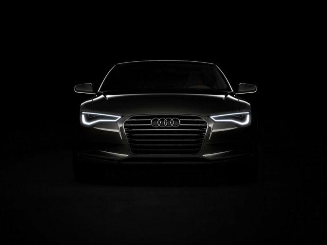 Audi R8 Front Black wallpaper