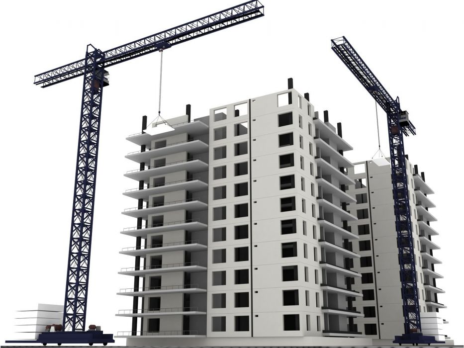 construction work building job profession architecture design crane wallpaper