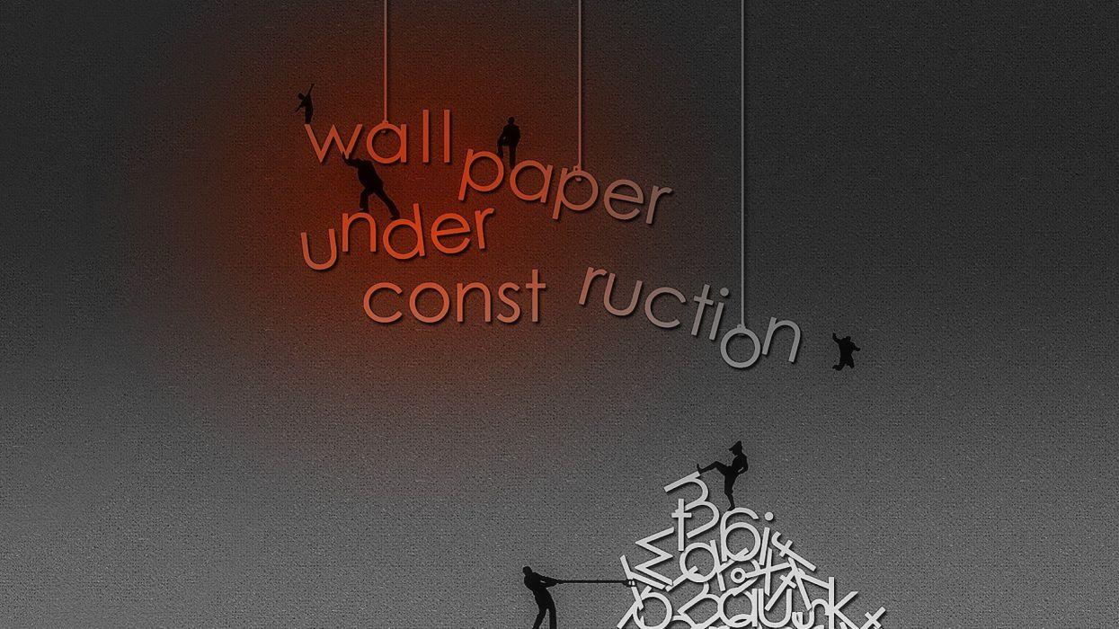 under construction sign work computer humor funny text maintenance wallpaper website web wallpaper