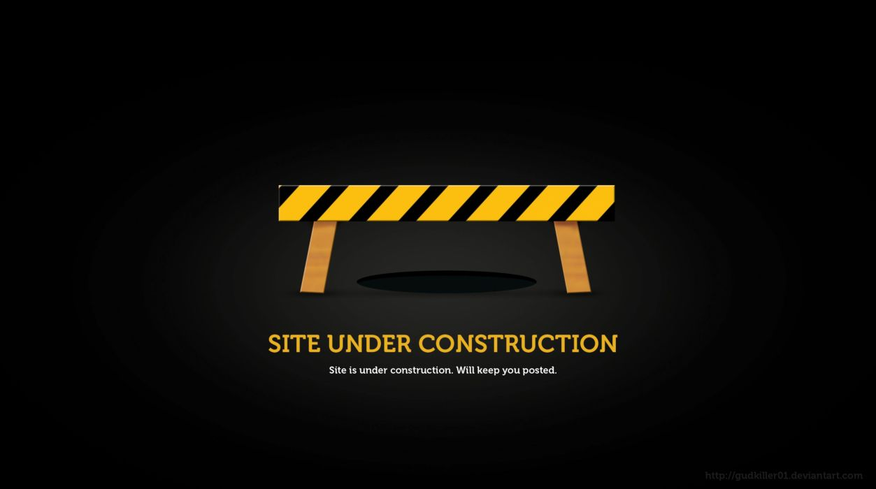 Under Construction Sign Work Computer Humor Funny Text Maintenance