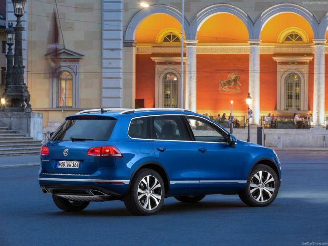 Volkswagen Touareg 2015 suv cars wallpaper