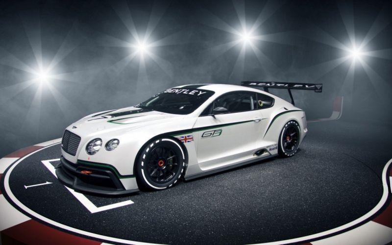 Racing Bentley Continental GT2 wallpaper