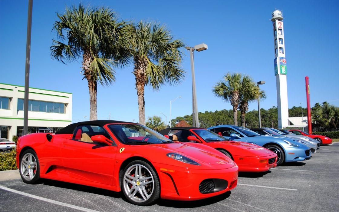 Ferraris wallpaper