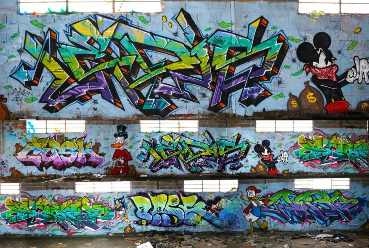 art buildings cities City colors graff Graffiti illegal street wall wallpaper