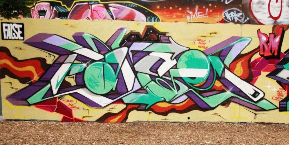 art buildings cities City colors graff Graffiti illegal street wall wallpaper