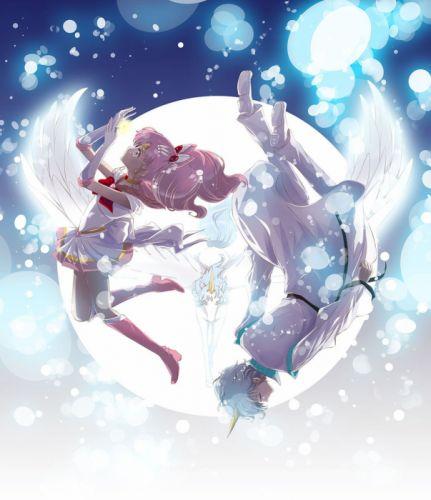 angels helios chibiusa moon light love sailor moon wallpaper