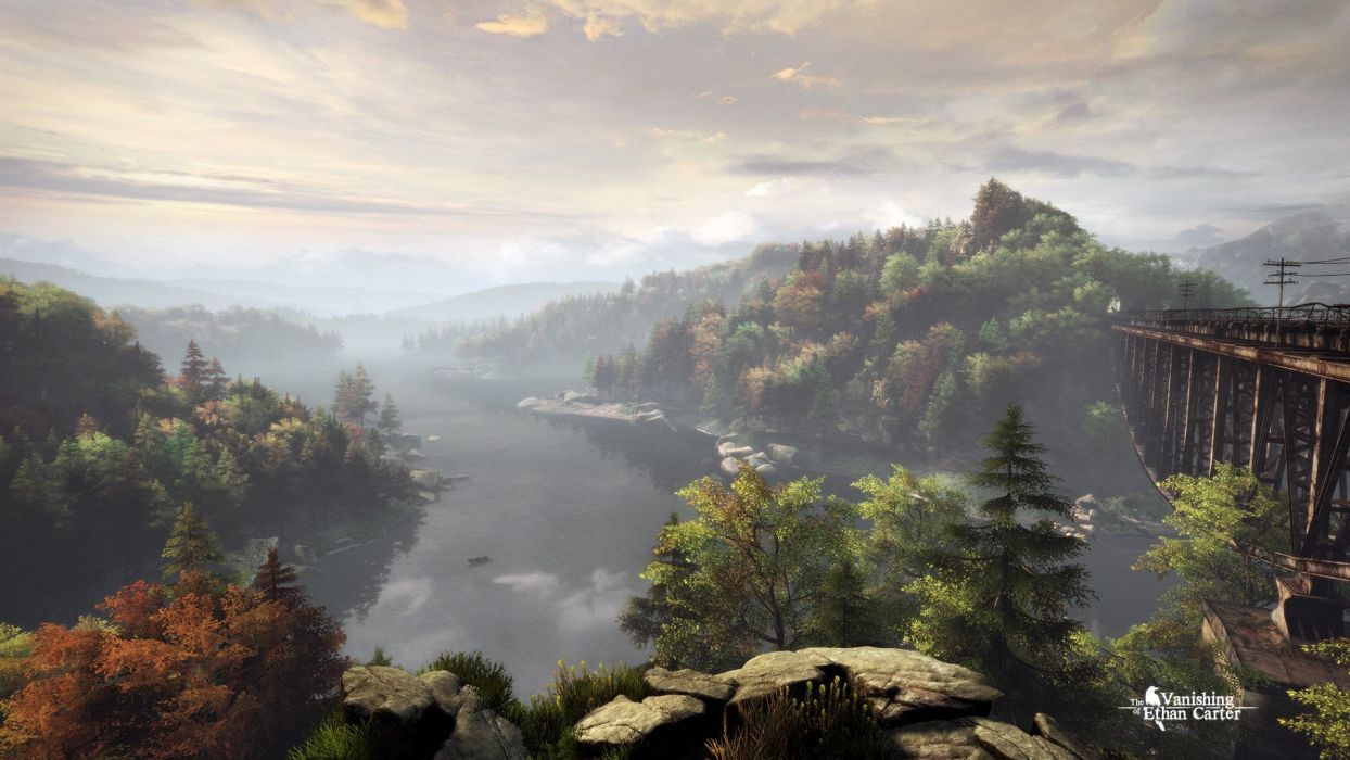 VANISHING OF ETHAN CARTER mystery adventure fiction horror paranormal crime wallpaper