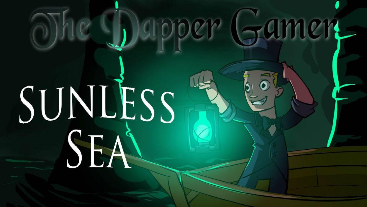 SUNLESS SEA exploration survival adventure gothic apocalyptic dark wallpaper