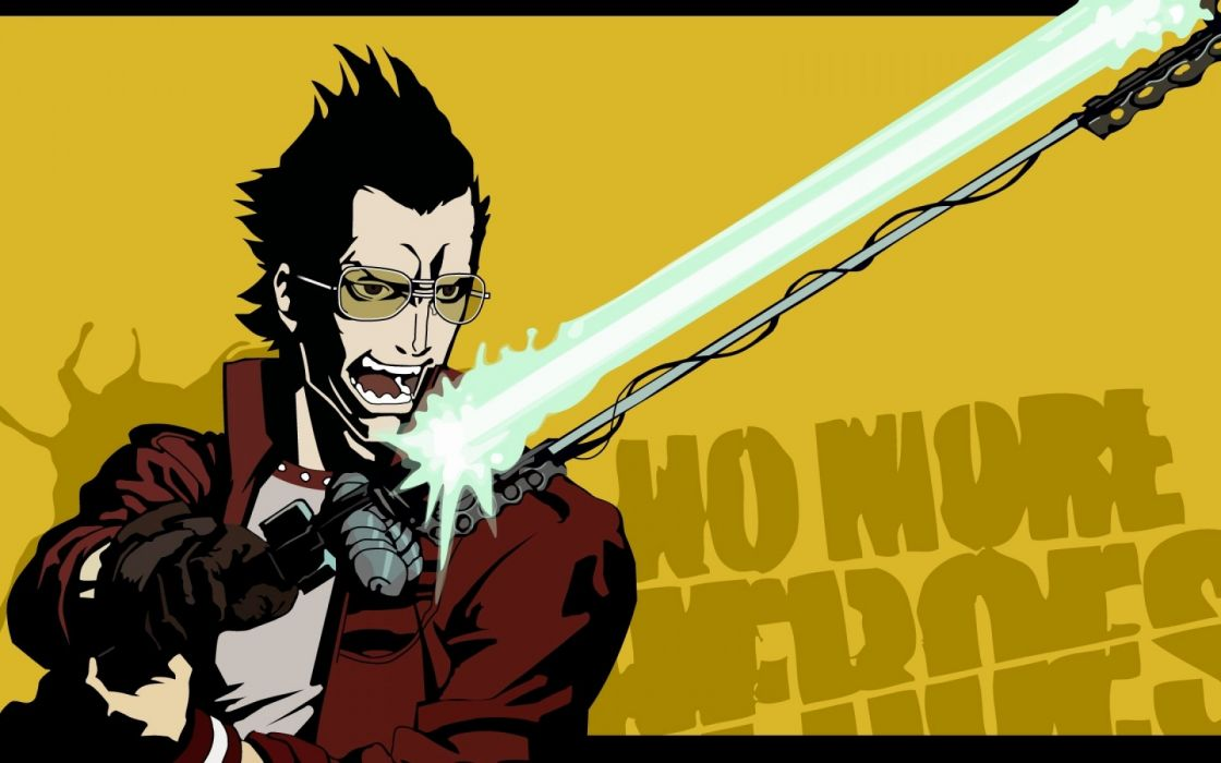 NO MORE HEROES action adventure fighting fantasy anime manga wallpaper