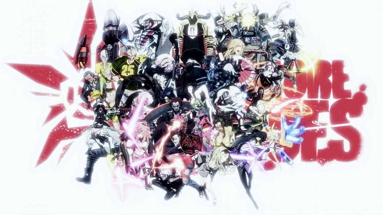 NO MORE HEROES action adventure fighting fantasy anime manga wallpaper