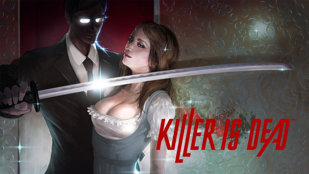 KILLER IS DEAD action fighting fantasy sci-fi killer-is-dead wallpaper