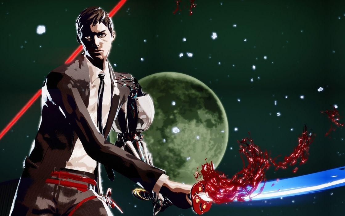 KILLER IS DEAD action fighting fantasy sci-fi killer-is-dead wallpaper