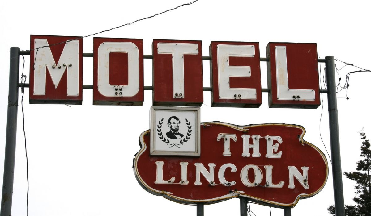 SIGNE Neon Lights HOTEL vacancy restaurant motel enseigne cities road street vintage wallpaper