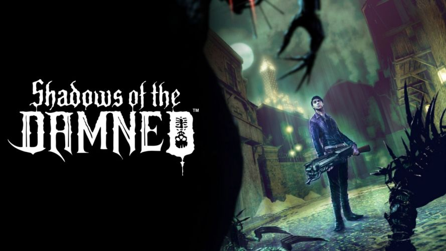 SHADOWS OF THE DAMNED psychological horror comedy dark adventure wallpaper