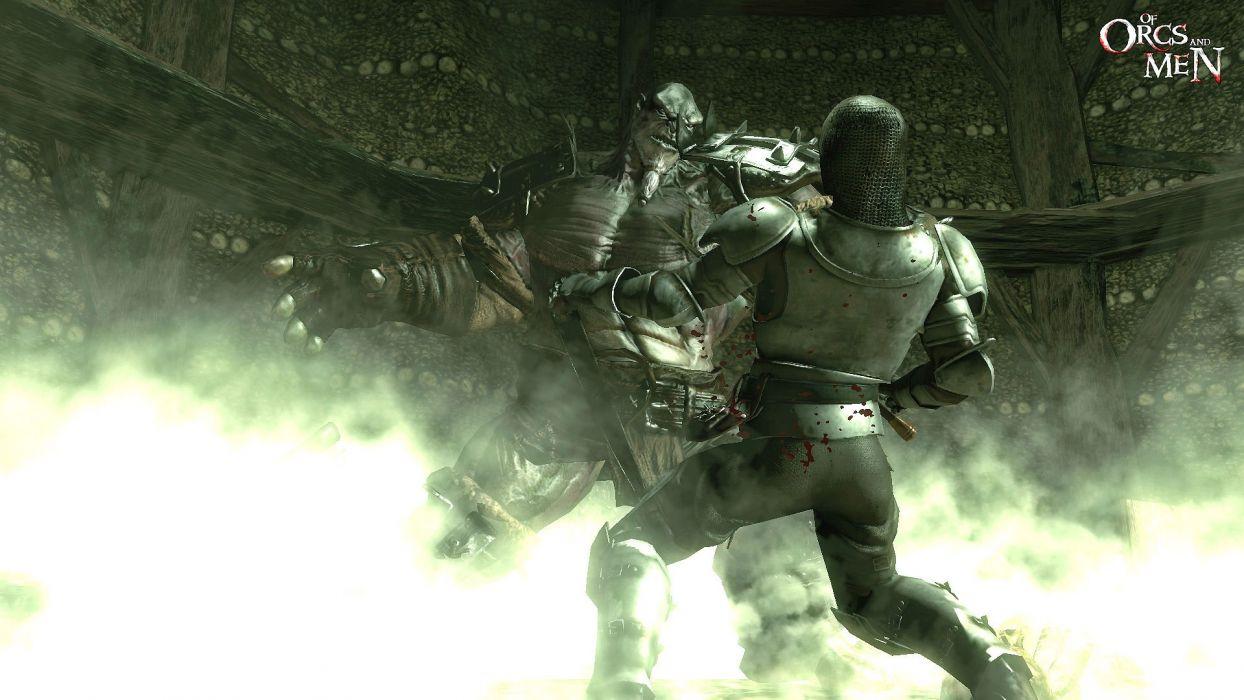 OF-ORCS-AND-MEN fantasy action rpg fighting warrior orcs men wallpaper