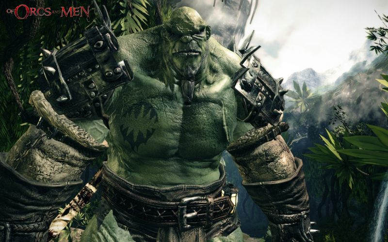 OF-ORCS-AND-MEN fantasy action rpg fighting warrior orcs men wallpaper