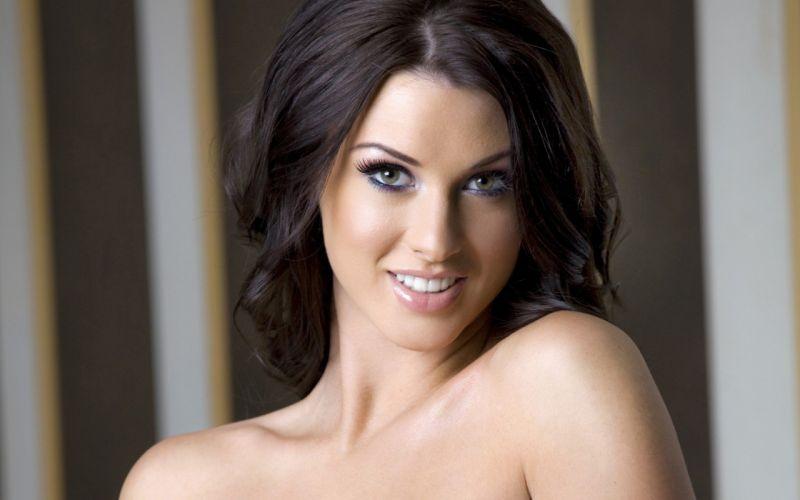Alice Goodwin brunette model woman beauty sweet lovely attractive body wallpaper