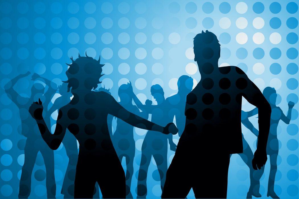 disco dance music club wallpaper