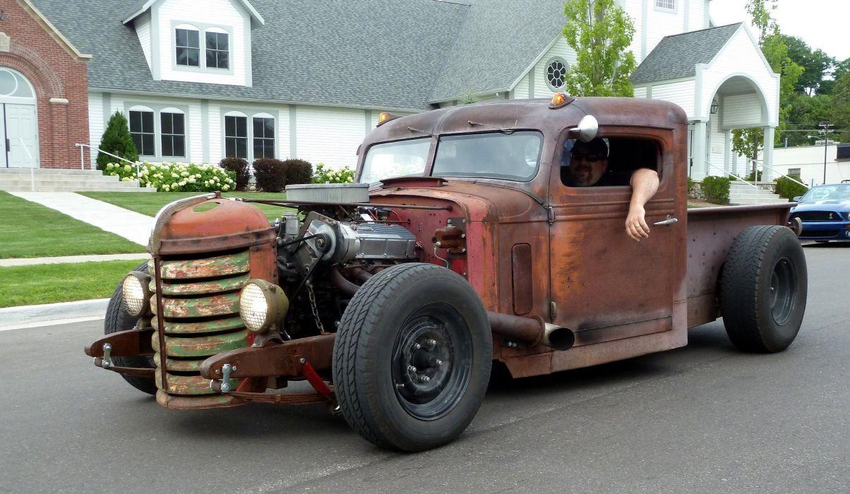 RAT-RODS Street-Rod hot-rod custom-cars lo-rider vintage cars usa wallpaper