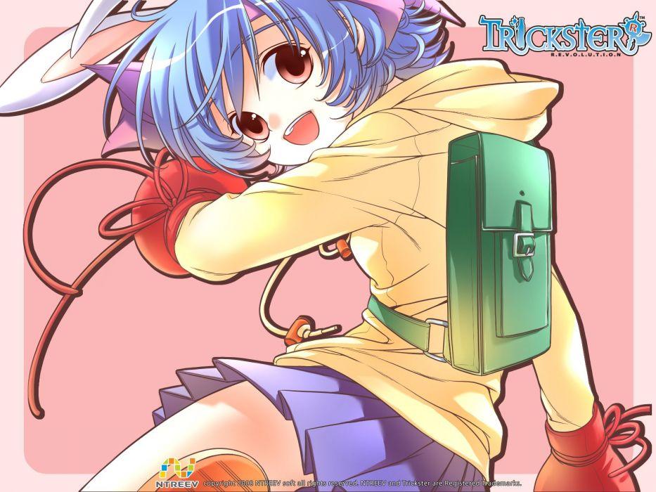 TRICKSTER ONLINE mmo rpg fantasy anime wallpaper