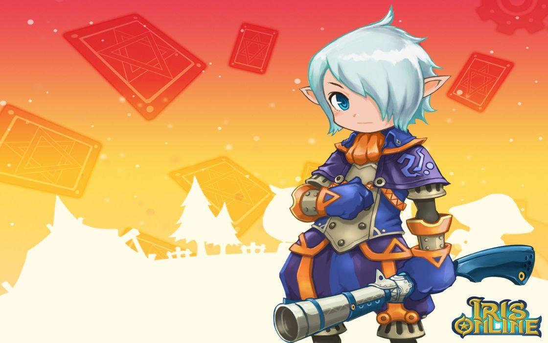 IRIS ONLINE mmo rpg fantasy anime f wallpaper