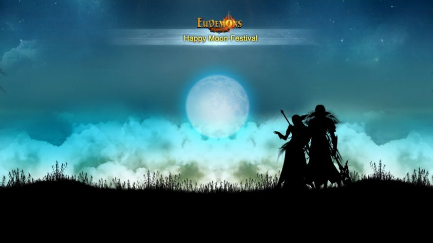 EUDEMONS ONLINE mmo rpg fantasy moon autumn wallpaper