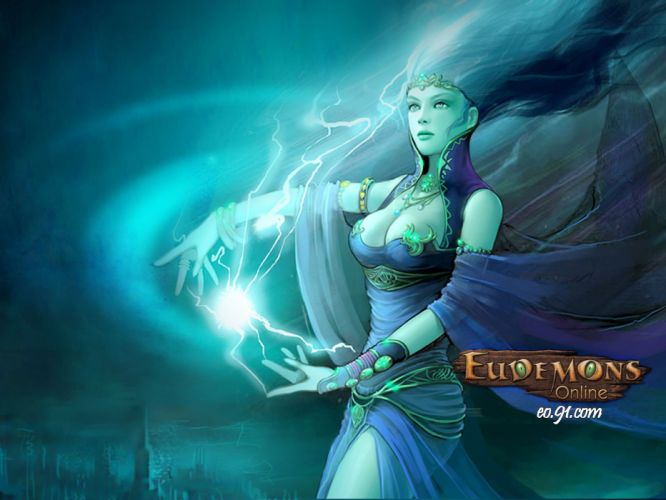 EUDEMONS ONLINE mmo rpg fantasy magic wallpaper