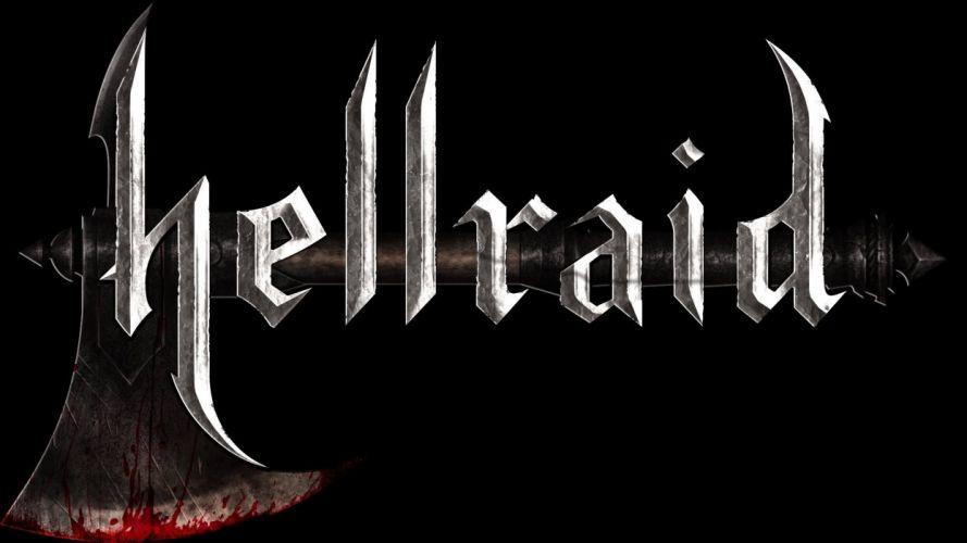 HELLRAID slasher dark horror action fantasy wallpaper