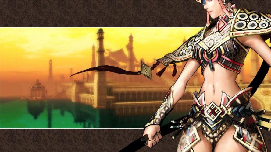 SILKROAD ONLINE mmo rpg fantasy adventure warrior wallpaper