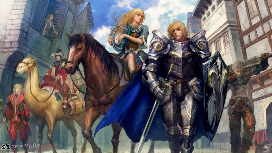 SILKROAD ONLINE mmo rpg fantasy adventure warrior wallpaper