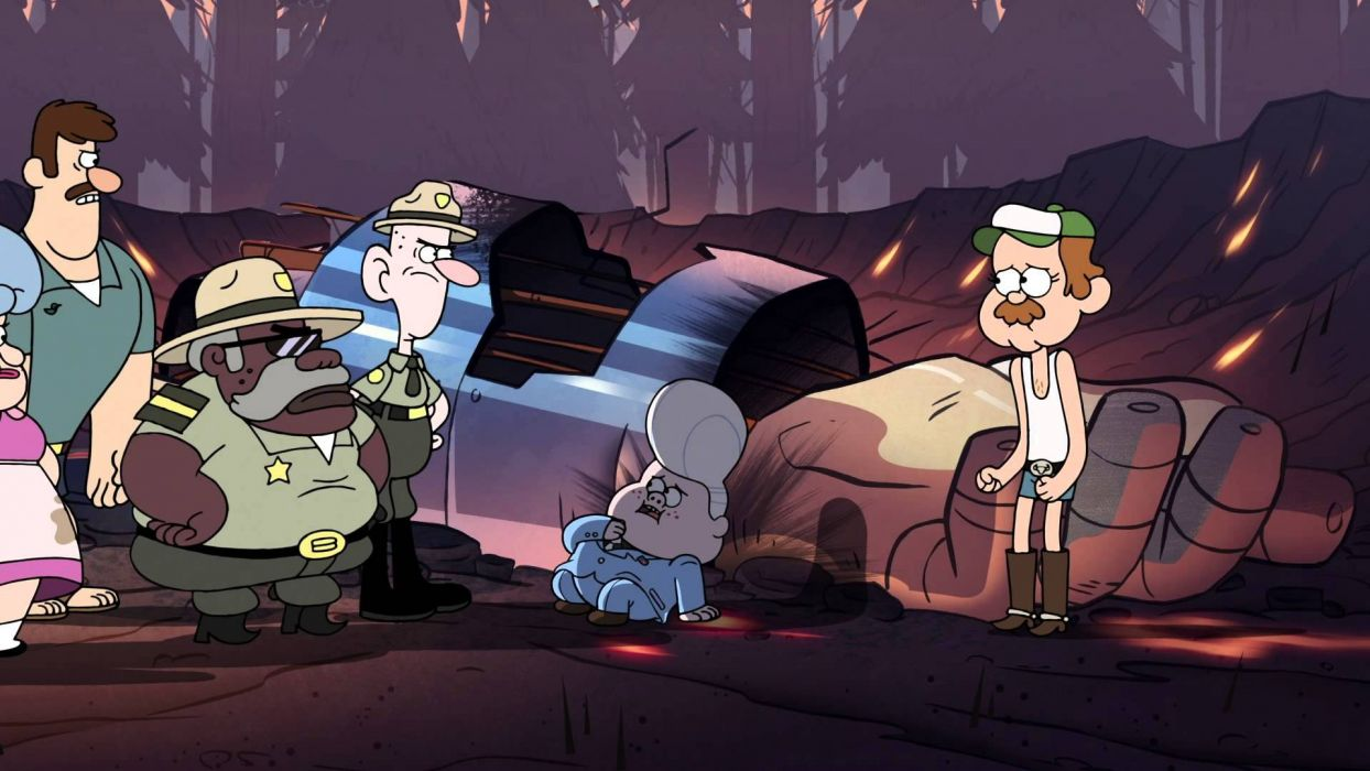 GRAVITY FALLS disney family animated cartoon series comedy wallpaper