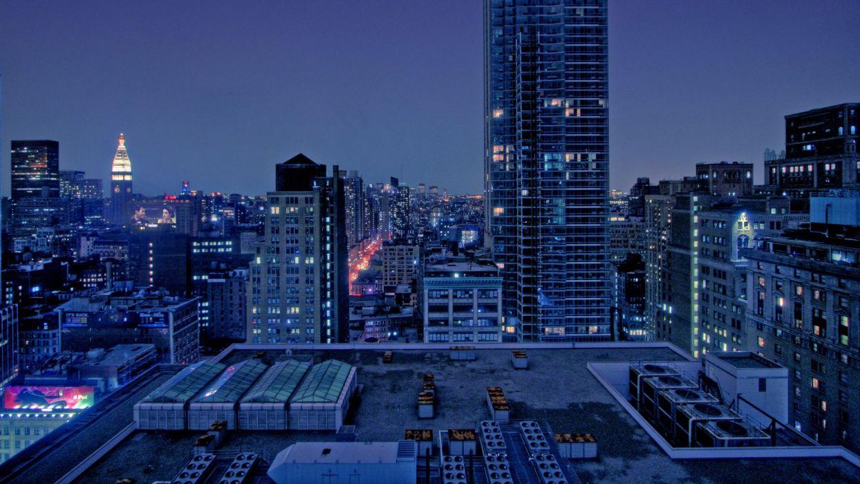 cityscape town look area urban buildings arhitecture wallpaper