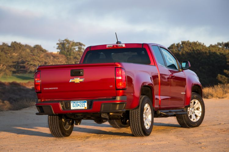 2015 Chevrolet Colorado L-T Extended Cab pickup wallpaper
